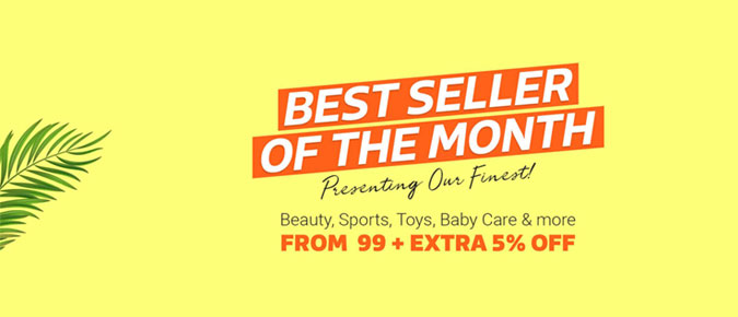 Flipkart Best seller Of the Month