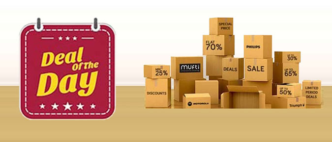 Deal of the Day - Get Exclusive Deals & Discounts at TataCLiQ