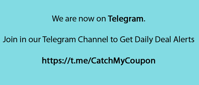 We are now on Telegram