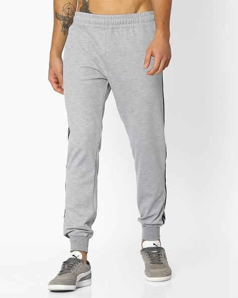 TEAMSPIRIT - Mid-Rise Joggers with Contrast Stripes