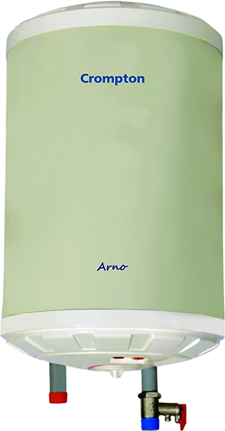 Crompton Arno 10-Litre Storage Water Heater (Ivory)