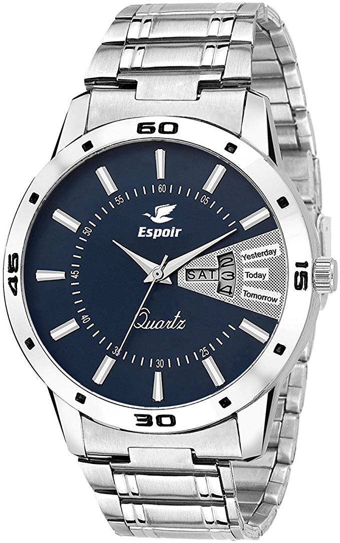 Mens ESP12457 Analog Blue Dial Watch