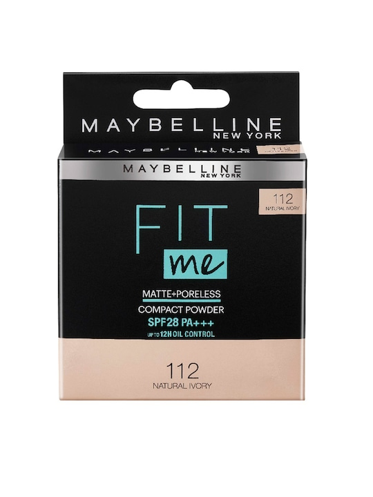 Maybelline - New York Fit Me Matte Poreless Compact Powder - 112 Natural Ivory, 8g
