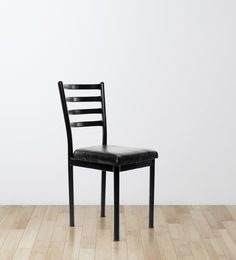 Streak Ladder Back Visitor Chair in Black Color
