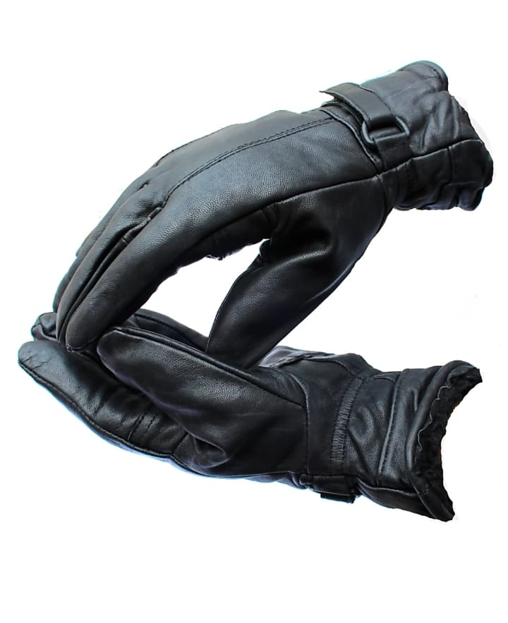 zaptos  Full Finger Gloves For Riders,Bikers Black Riding Gloves  (Black)
