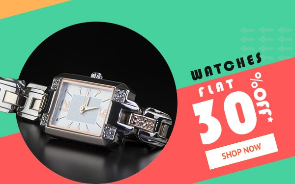 Buy Ladies Watches  Flat 30% off