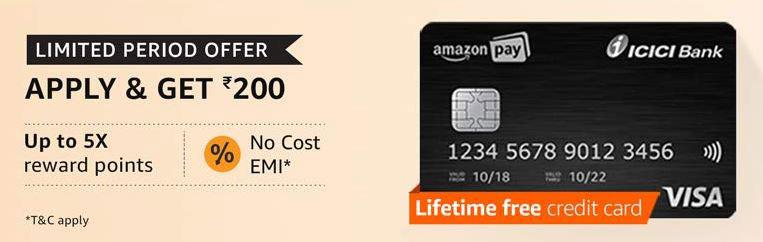 amazon coupons icici credit card