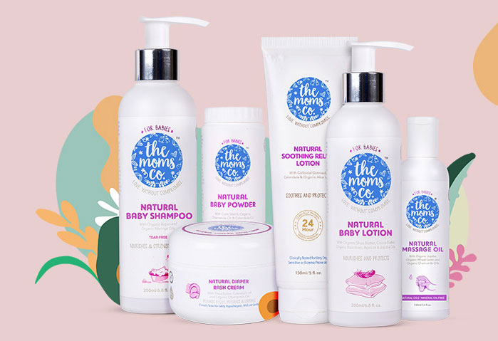 Min 20% off on TheMomsCo Natural, Certified Toxin-free Pregnancy and Baby Care Products